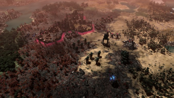 Warhammer 40,000: Gladius - Relics of War Deluxe Edition screenshot 3