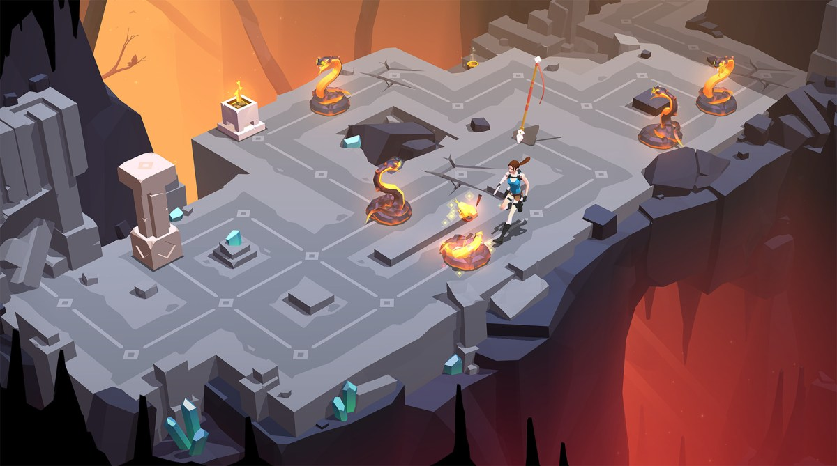 Download Now Lara Croft GO - a free top 1 adventure game in 2015