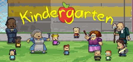 Kindergarten on Steam Welcome to Kindergarten  Have fun trying to learn and share   and not die   That s important too  In a school that s just not quite right  it s  important to