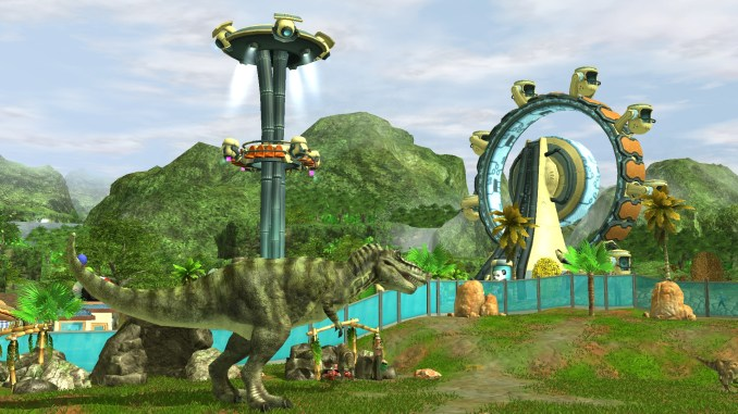 Wildilfe Park 3: Dino Invasion Screenshot 1