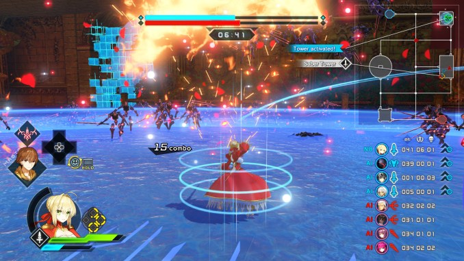 Fate/Extella Link Screenshot 2