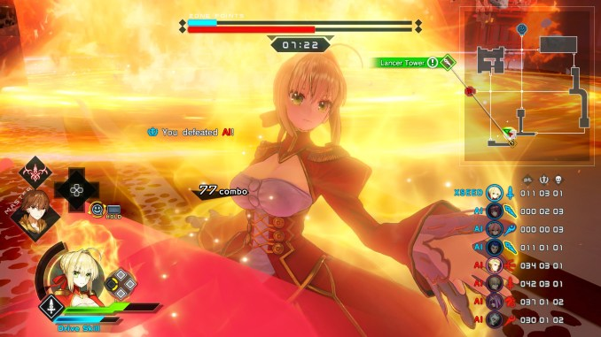 Fate/Extella Link Screenshot 3