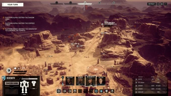 BattleTech screenshot 1
