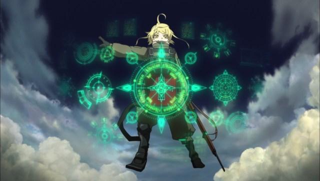 Best Isekai anime #6 Saga of Tanya the evil