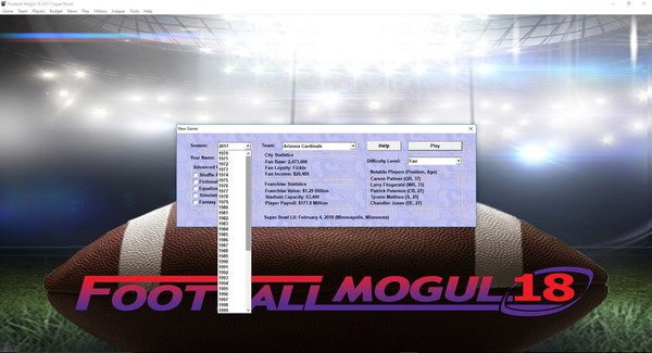 Football Mogul 18 Screenshot