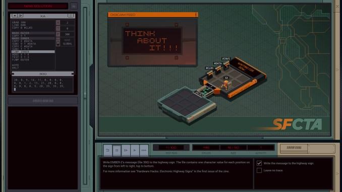 EXAPUNKS screenshot 3