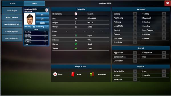Soccer Manager 2018 Screenshot