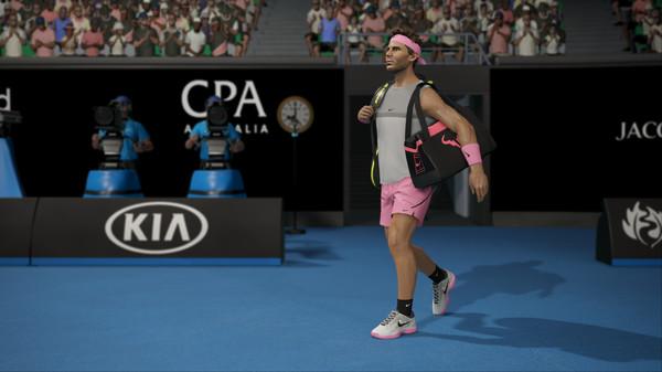 AO International Tennis Screenshot