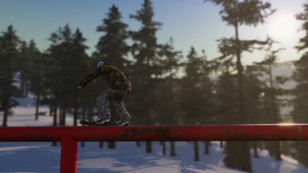 The Snowboard Game Screenshot