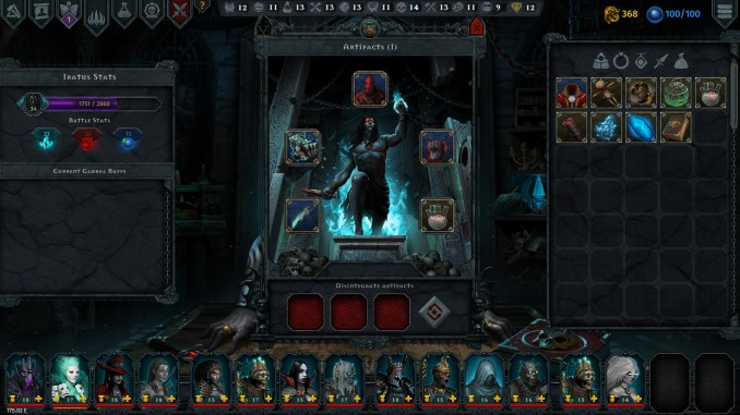 Iratus: Lord of the Dead Screenshot 3