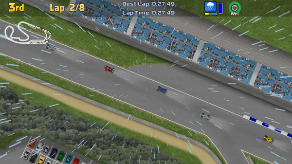 Ultimate Racing 2D Screenshot
