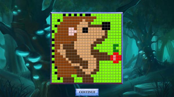 Picross Fairytale - nonogram: Red Riding Hood secret Screenshot