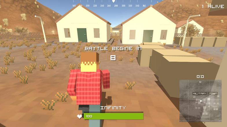 capa do jogo THE DUST: Pixel Survival Z Battleground