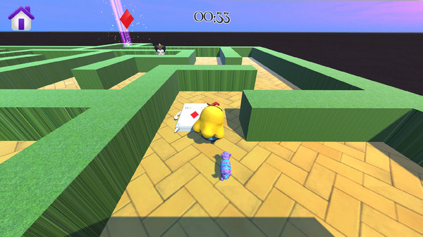Alice in Wonderland - 3D Labyrinth Game Screenshot