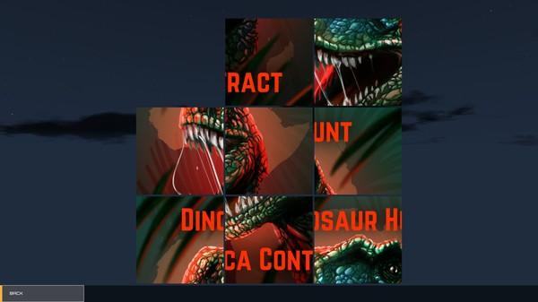 Dinosaur Hunt Puzzle Screenshot