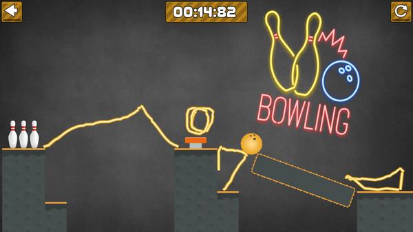 Contact Draw: Bowling Screenshot