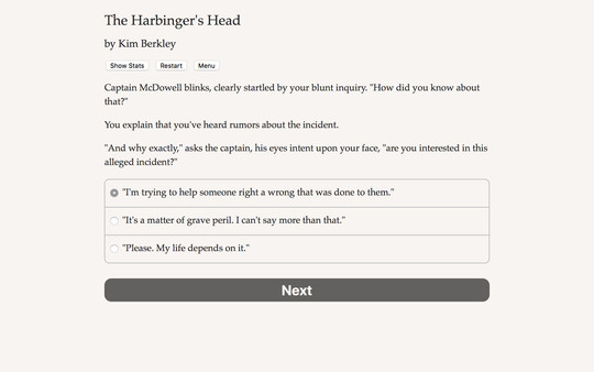 The Harbinger's Head Screenshot