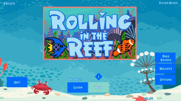 Rolling in the Reef Screenshot