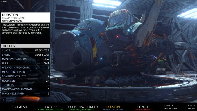Rebel Galaxy Outlaw screenshot 1