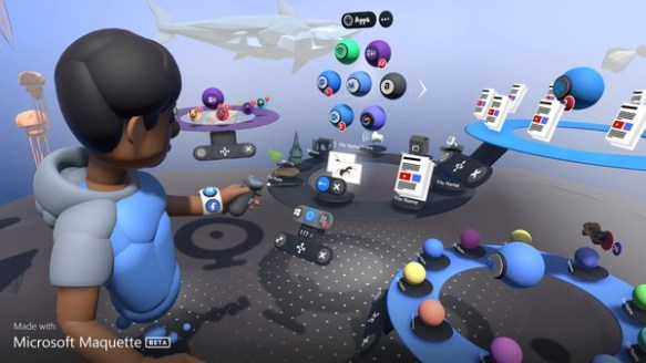 Steam New Release: Microsoft Maquette | Arthands-VR