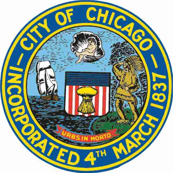 Image result for city of chicago incorporated 4th march 1837
