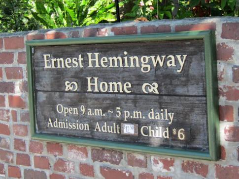 Hemingwaysign