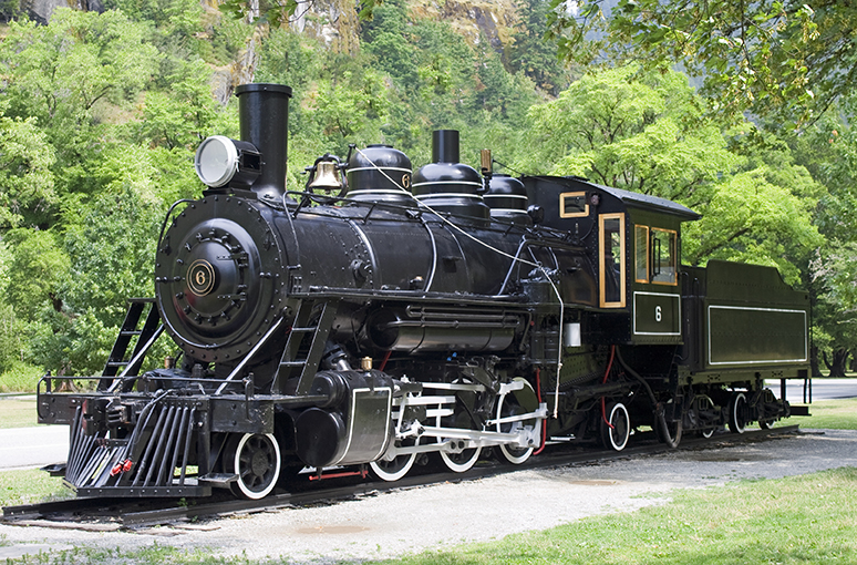 Newhalem Steam Engine Train - Steampunk Rendezvous