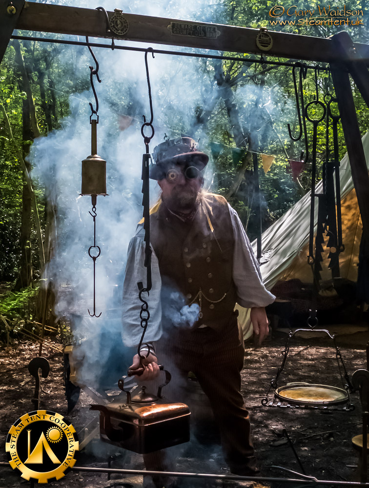 The Steam Tent Cooperative - Steampunk Camping