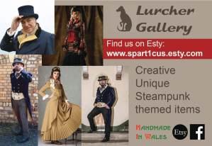Lurcher Gallery - Steampunk Style