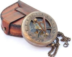 Brass Sundial Compass. 1