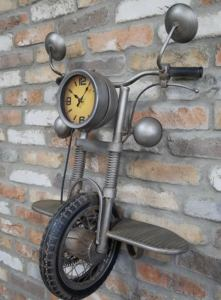 Steampunk motorcycle Motorbike Clock.jpg 2