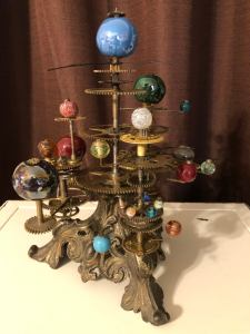 Steampunk Solar System Orrery Sculpture. 1