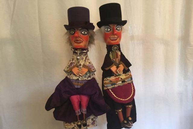Steampunk Punch & Judy Puppets. 2