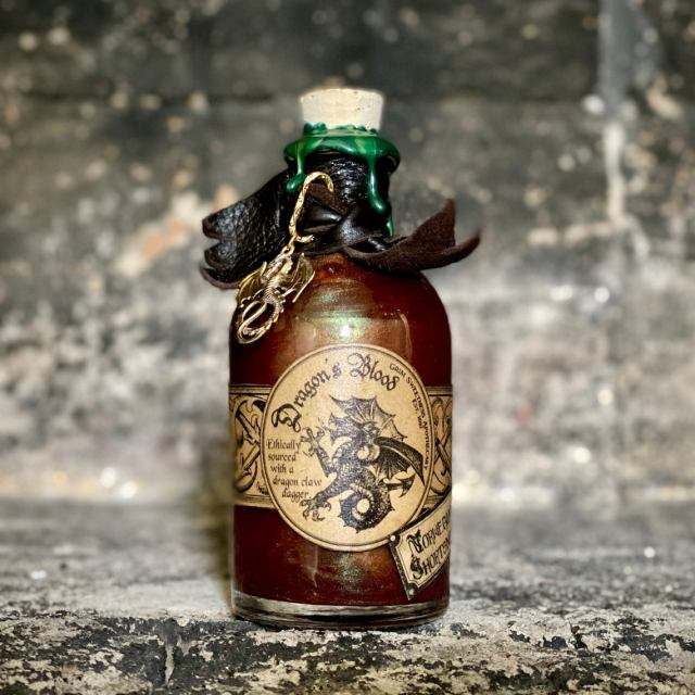 Dragon's blood makes for a great magical ingredient and has been used in potion-making for centuries. Albus Dumbledore himself had discovered twelve uses for the substance. Two of which was an oven cleaner and a cure for verrucas.