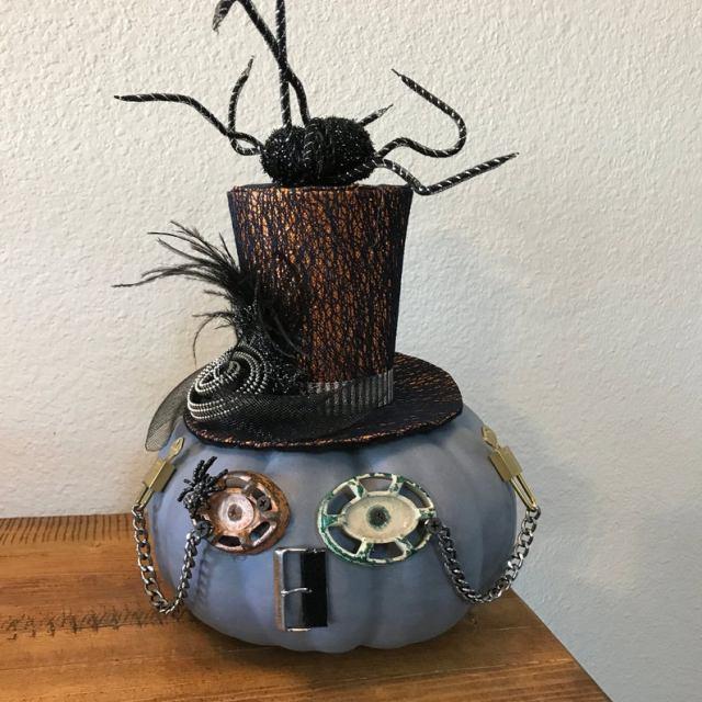 Steampunk Spider Pumpkin Robot. 1