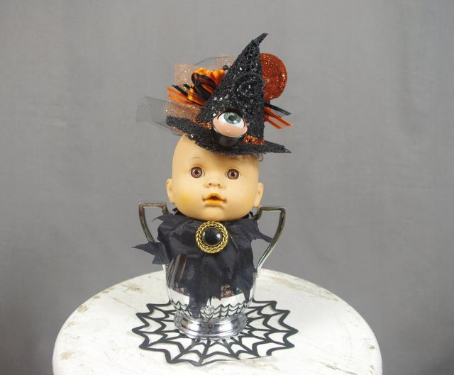 Creepy Steampunk Halloween Doll. 1