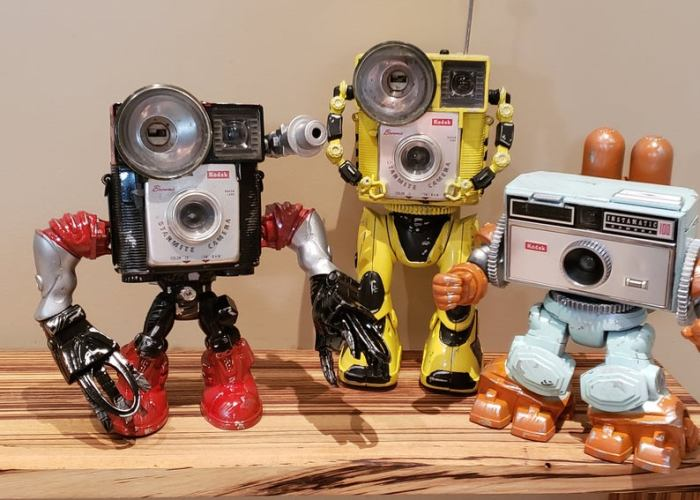 Amazing Vintage Camera Robots by Paul McCue.