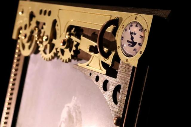 Mechanical Steampunk Picture Frame 2