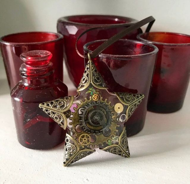 Steampunk StarSteampunk Christmas Decorations for 2020.