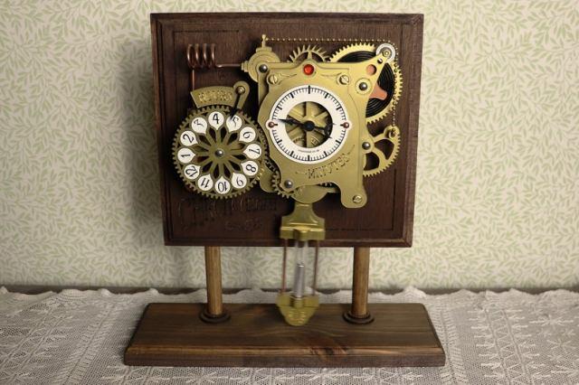The Chronograph Steampunk Clock 7