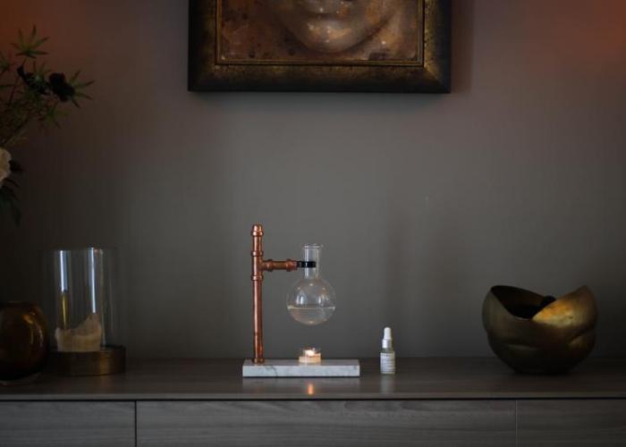 Steampunk Essential Oil Burner/Infuser.