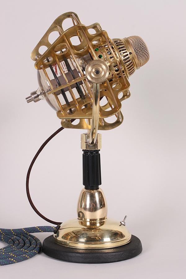 Girl Genius Radio Theater Steampunk Microphone