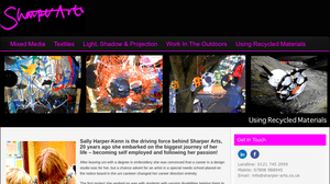 Sharper Arts Website
