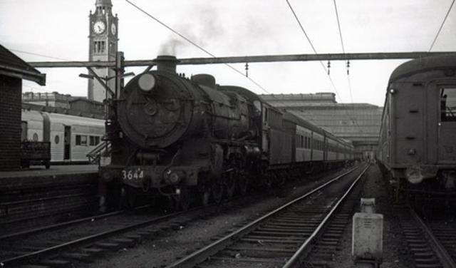 sydney terminal 3644 moss vale steam train