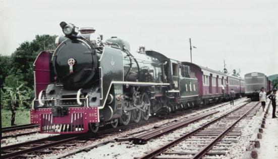 840 thai steam loco pacific 4-6-2