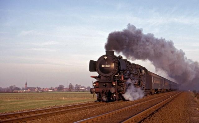 Rheine Norddeich steam train 012 pacific