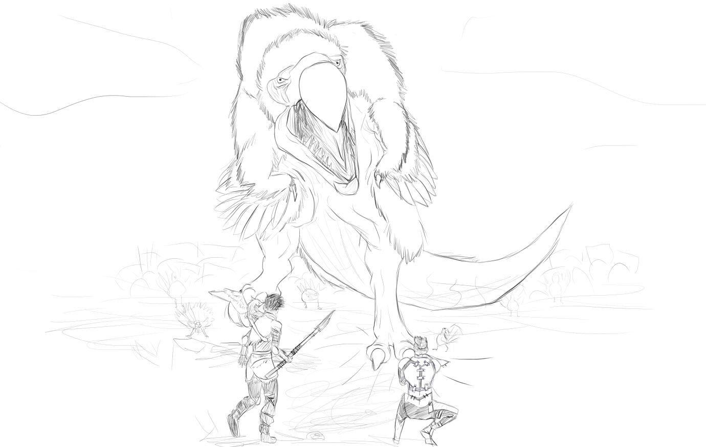 Ark Survival Evolved Coloring Pages
