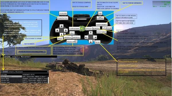 Steam Community :: Guide :: XBOX CONTROLLER SETUP FOR ARMA 3