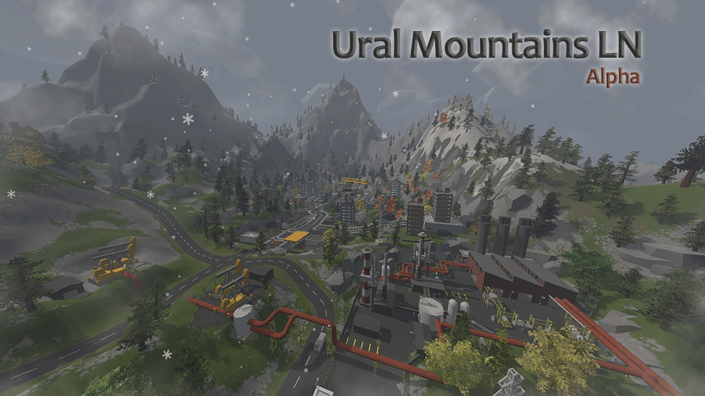 Steam Workshop    Ural Mountains LN Asset Type  Map