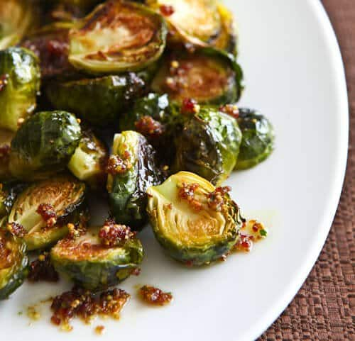 Mmm, brussel sprouts.